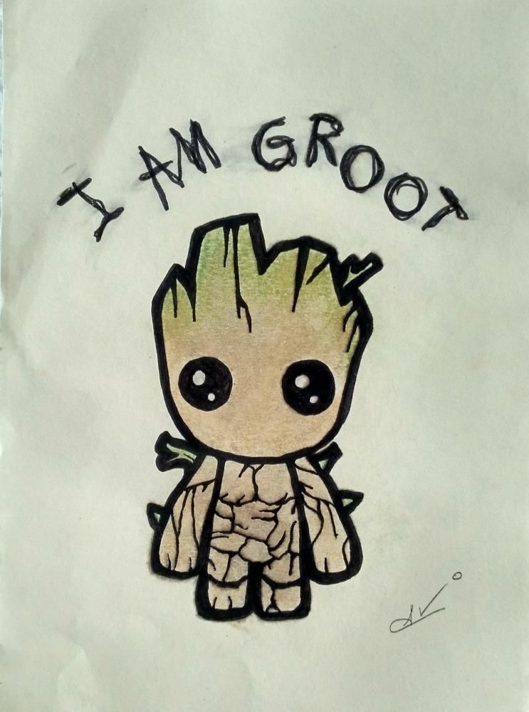 Groot by Nereaaj
